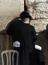 Photo: Orthodox Jews at the Western Wall.