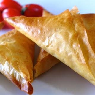 Greek Feta Cheese Triangles Recipe (Tiropitakia) Recipe
