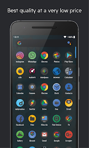Darkful Icon Pack – Theme for Apex/Nova Launcher 2