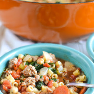 Turkey Sausage and Chickpea Soup