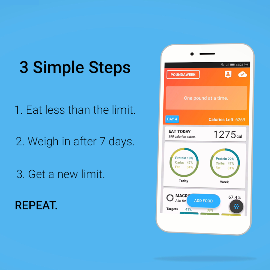 Poundaweek - Diet Coach and Calorie Counter - Android Apps ...