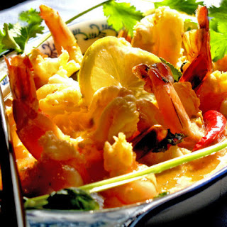 Luscious Lemon-Coconut Shrimp