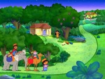 Dora à la fête des Rois