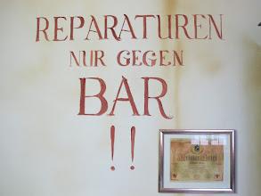 Photo: #SomfyPST: das waren noch Zeiten: Reparaturen nur im BAR