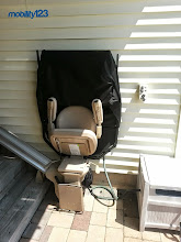 Photo: Bruno Outdoor Elite Stairlift | NJ
