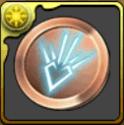 竜(ドラゴン)の紋章メダル【銅】