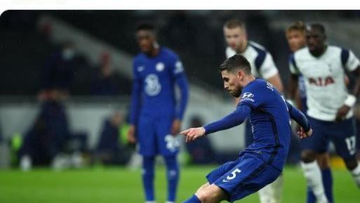 Hasil Liga Inggris - Mourinho Kecewa Lloris Sundul Bola Menit 66, Tottenham Ditelan Chelsea - Bolasport.com