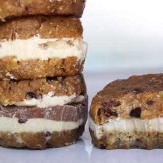 Raw Vegan Chocolate and Vanilla Ice Cream