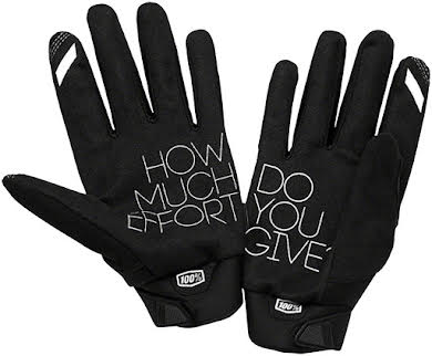 100% Brisker Youth Full Finger Gloves alternate image 2