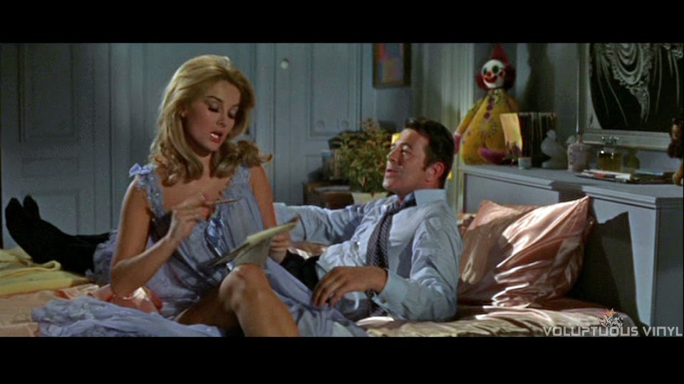 Barbara Bouchet as Moneypenny in Casino Royale