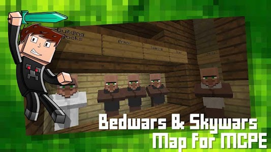 Download Bedwars & Skywars Map for MCPE APK latest version