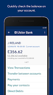 Ulster Bank NI- screenshot thumbnail
