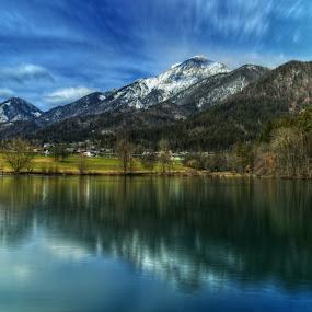 Kamnik–Savinja Alps by Mara R. Sirako - Landscapes Travel ( climbing, storzic, walking, mountain, cernjava, tourism, lake, travel, preddvor, kamnik–savinja alps, hiking,  )