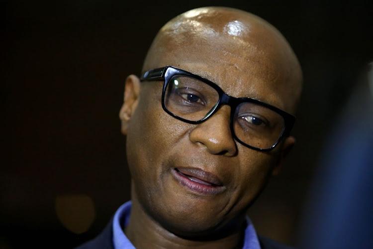 """南非副部长科德瓦(Zizi Kodwa)认为,没有必要再因国家抓捕调查中针对他的""""其他""""指控而出现在非国大诚信委员会(Integrity Commission)面前。文件的照片。"""