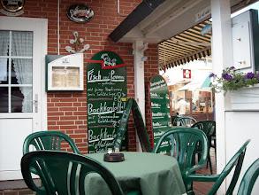 Photo: Hier in Büsum gab es Scholle und grüne Heringe