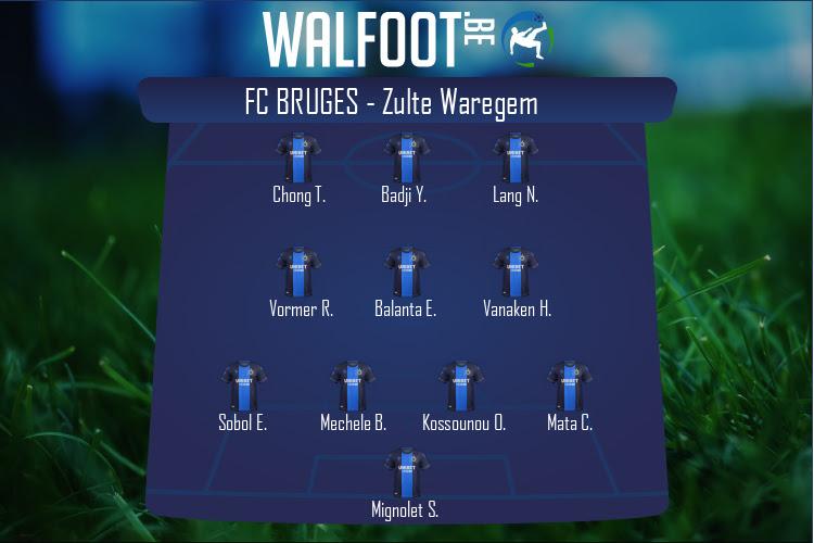 FC Bruges (FC Bruges - Zulte Waregem)