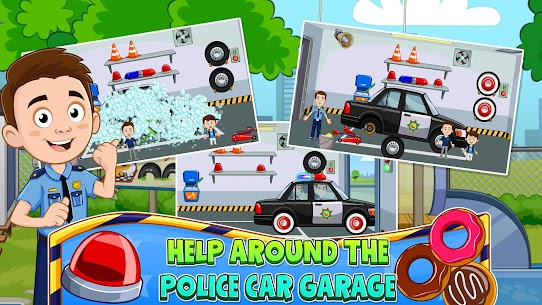 My Town : Police Station Pretend games for Kids 4