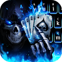 Horrible 3D Poker Skull icon