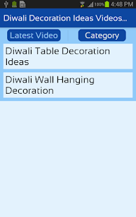 Diwali Decoration Ideas Videos App for Home - náhled