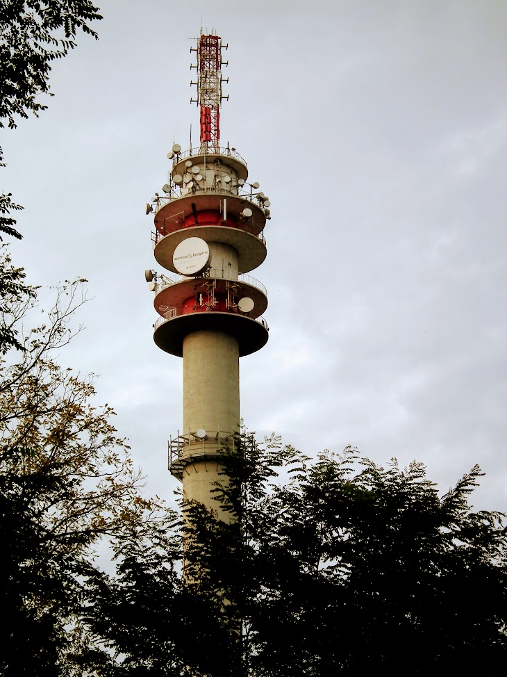 Debrecen/Pallagi út - TV-URH gerincadó állomás