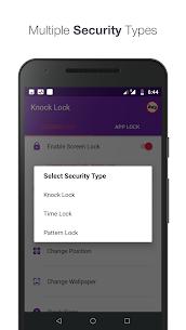 Knock lock screen – Applock Premium (Unlocked) 4