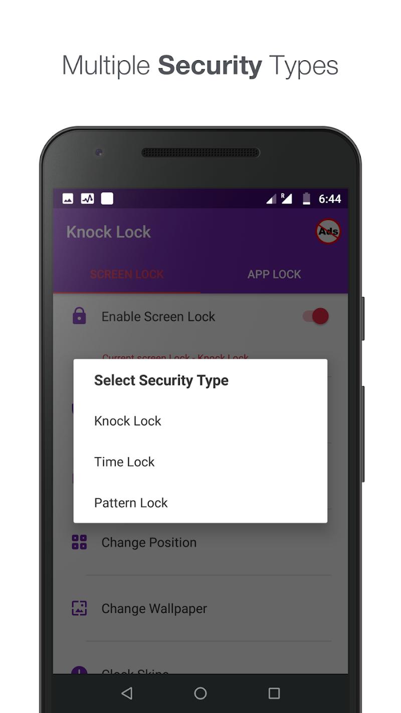 Knock lock screen - Applock Screenshot 3