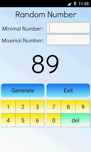 Random Number Calculator