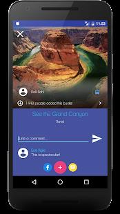 Buckist - Best Bucket List App - náhled
