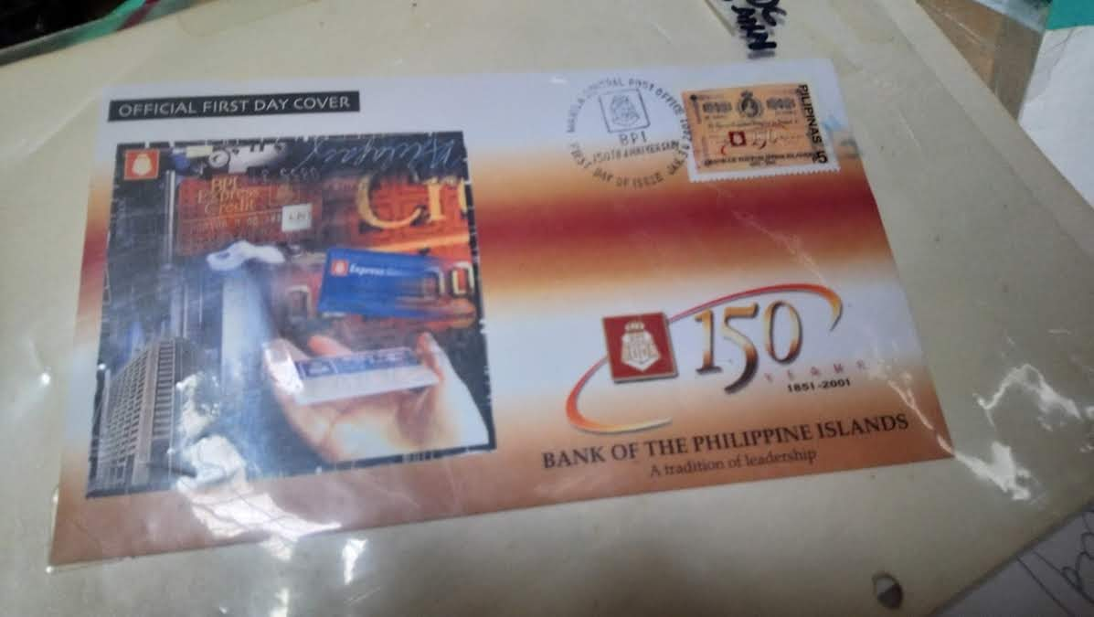 BPI 150th anniversary FDC