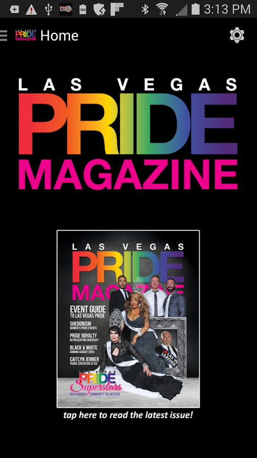 Las Vegas Pride Magazine- screenshot