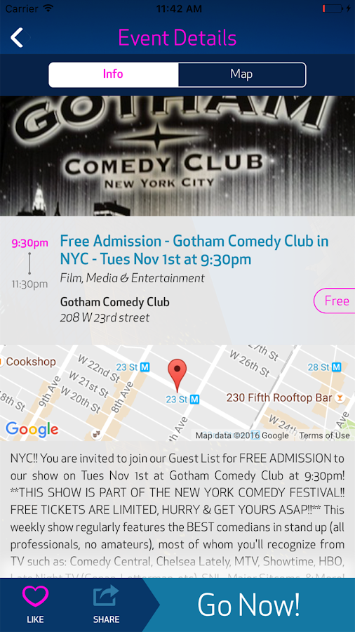 Gohilo - NYC Events Today Near- screenshot