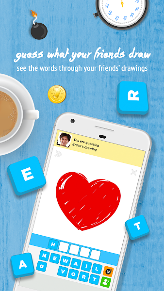 Draw Something Screenshot Image