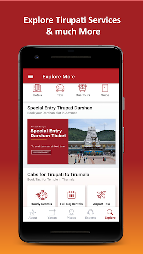 Tirupati Balaji Yatra by Travelkosh screenshots 6