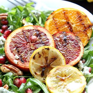 Grilled Super Citrus Summer Salad with Sweet & Tangy Lemon Vinaigrette