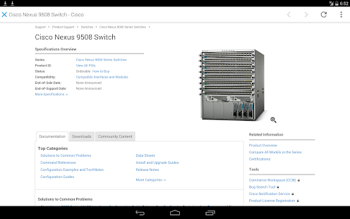 Cisco Technical Support- screenshot thumbnail