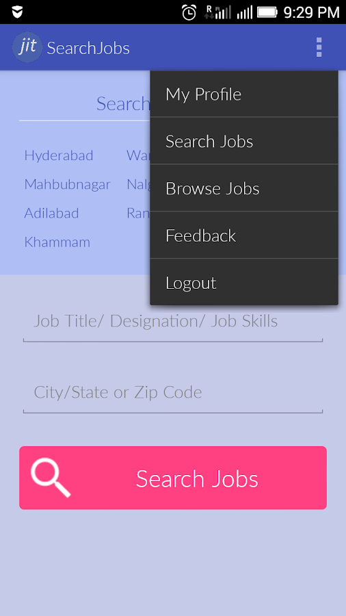 Jobs in Telangana- screenshot
