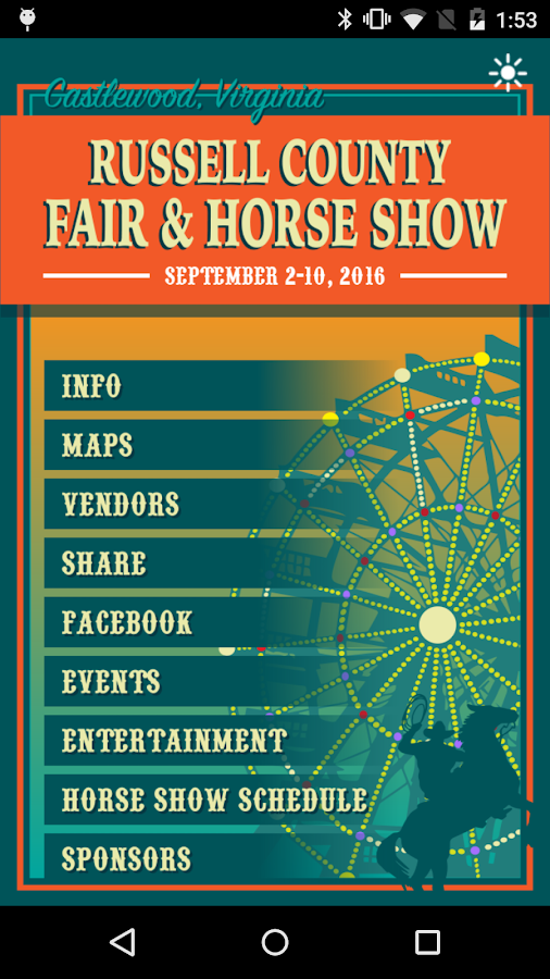 Russell Co. Fair & Horse Show- screenshot
