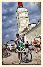 Photo: MTS 26 au Ventoux (en mode pneus route)