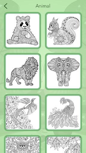Animal Coloring Book 3.1.5 screenshots 8