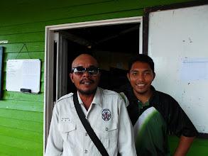 Photo: With my mandore; Ishak
