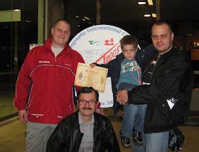 Photo: Hajošević family : YT7AW, Mateo, YZ7EM, YT3H