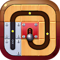 Unroll Ball - Slide Puzzle Game icon