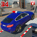 Police Car Roof Stunts 3D icon