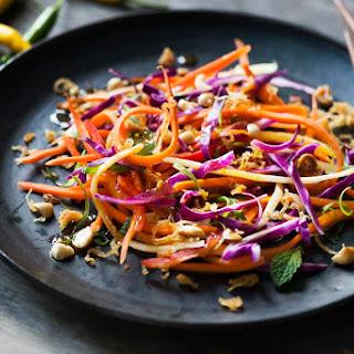 Crispy Crunchy Asian Mashup Salad.