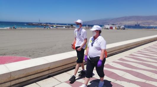 Comienzan a trabajar los 660 vigilantes de las playas de Almería