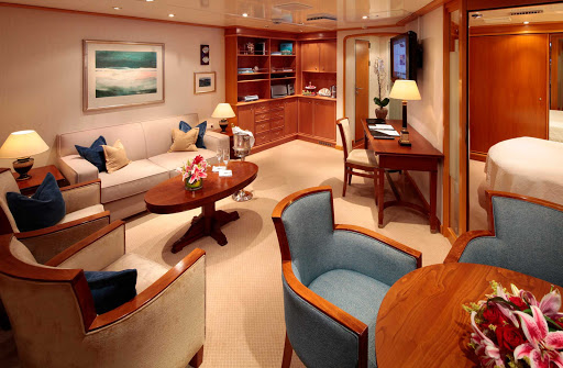 SeaDream-Owners-Suite1.jpg - Relax in your Owners Suite on a SeaDream Yacht Club cruise.