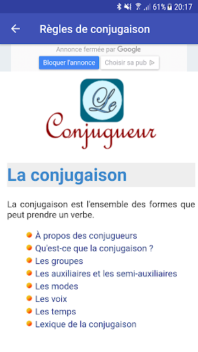 Le Conjugueur  screenshots 6