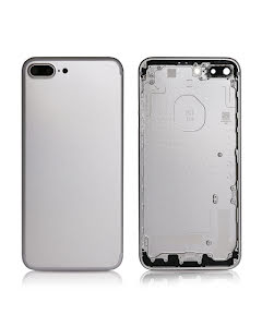 iPhone 7 Plus Back Housing without logo High Quality Silver