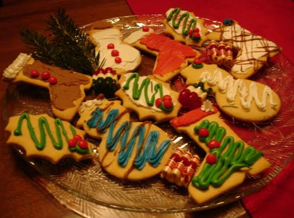 Mom's Cut-out Cookies & Frosting