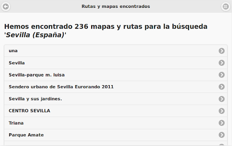 Rutas Senderismo Tablets screenshot 11